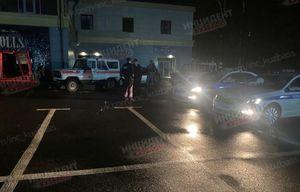 Автомобилистка врезалась в здание ночного клуба в Кемерове