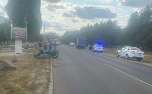 Два человека пострадали в ДТП с мотоциклом и «Газелью» в Воронеже