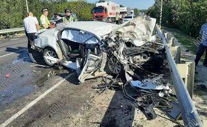 В ДТП с цементовозом на волгоградской трассе погибли 3 человека