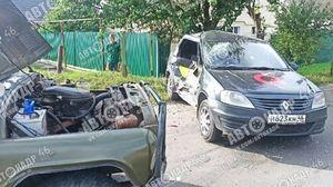 В Курске на Кисленской в ДТП пострадала женщина