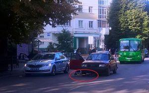 Автомобилистка на Audi сбила ребенка на электросамокате в Воронеже
