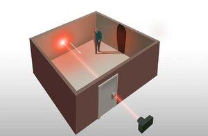 Создан лазерный сканер, позволяющий через замочную скважину получить изображение комнаты