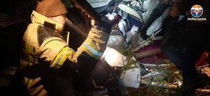 В результате жесткой посадки самолета L-410 в тайге в Иркутской области погибли четыре человека