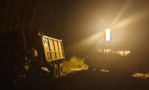 Три человека погибли и восемь пострадали в лобовом ДТП с грузовиком и автобусом под Калугой