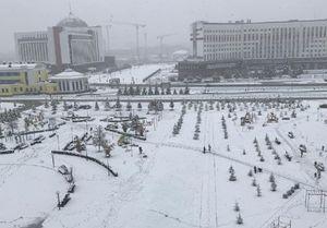Синоптики объяснили мощный снегопад в сентябре в Кузбассе