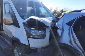 Двое человек пострадали в массовом ДТП в Воронежской области