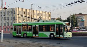 В Курске на Радищева временно прекратят движение троллейбусов