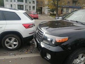 В Воронеже на улице 20-летия Октября разбились две иномарки